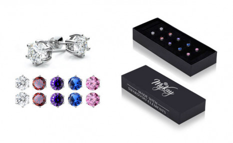 Click to view $25 for a Set of 5 Swarovski Element Earrings (a $149.99 Value)
