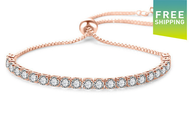 Click to view $20 for a Swarovski Elements Tennis Bracelet (a $119 Value)