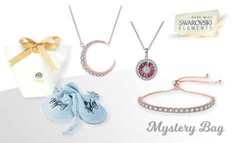 Click to view Up to 88% off a Swarovski Elements Mystery Gift Bag