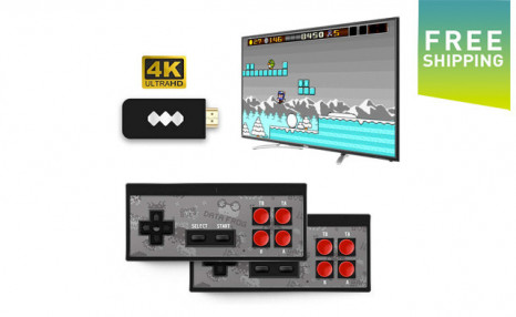 $39 for a Wireless Video Game Console with 568 Classic Games (a $119 Value)