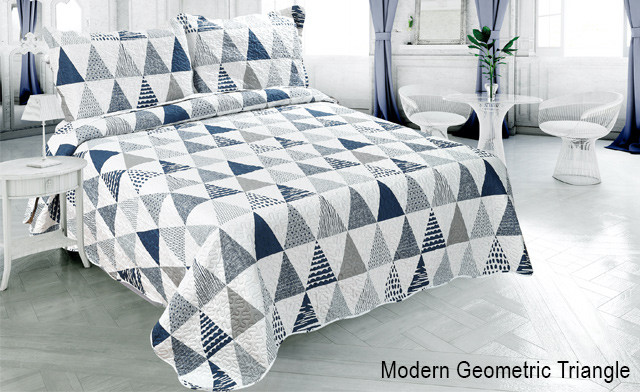Up to 75% off Pinsonic 3-Piece Quilt Sets