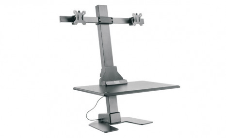 $519.99 for a Dual Monitor Electric Sit-Stand Workstation (a $619 Value)