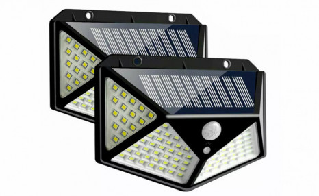$33.95 for a 2-Pack of Solar Motion Sensor Lights