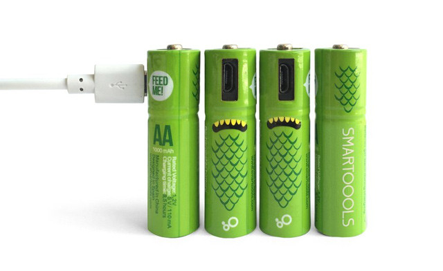 Click to view Up to 39% off USB Rechargeable AA/AAA Batteries