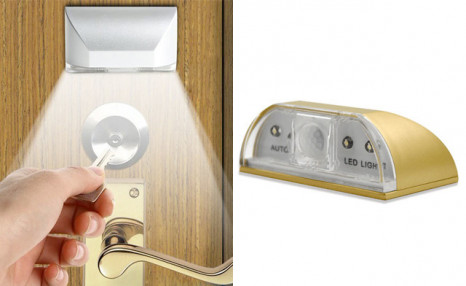 Click to view $15.95 for a Motion Detector Keyhole Light (a $27.99 Value)