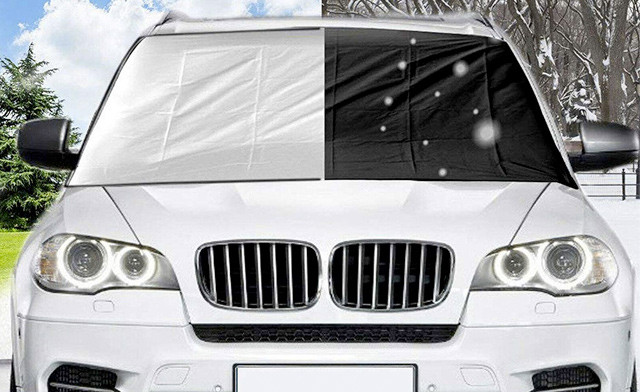 Up to 80% off a Magnetic Windshield Cover