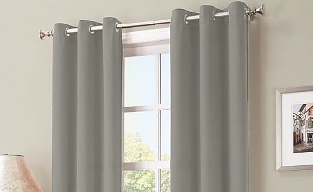 $21 for Kayla Grommet Blackout Curtains (a $62.99 Value)