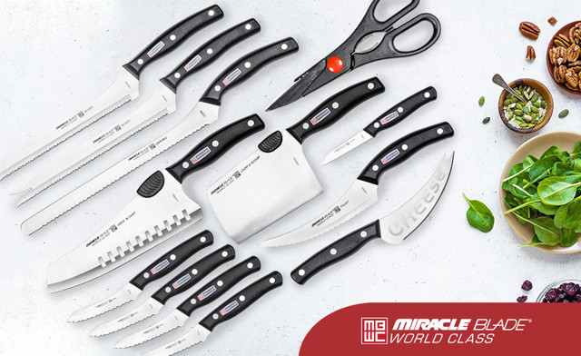 $25.95 for a 13-Piece Miracle Blade Knife Set (a $79 Value)