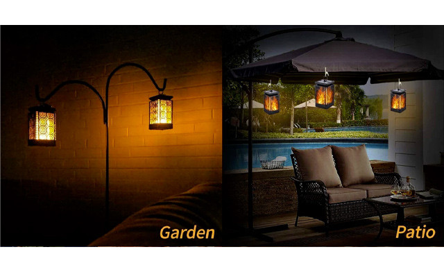Up to 55% off Solar Powered Hanging Lanterns