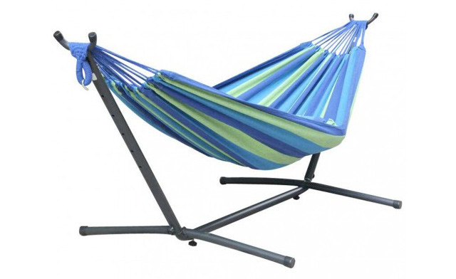 $109.95 for a 2-Person Hammock w/ Steel Stand and Carrying Case (a $219 Value)