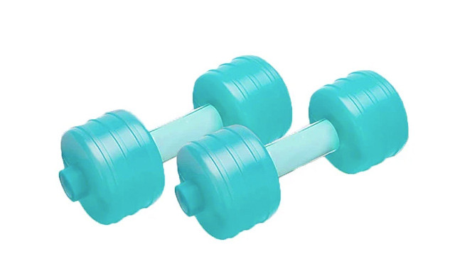 $29.95 for a 2-Pack of Water Dumbbells (a $65 Value)