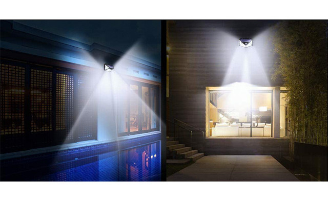 $24.95 for a 2-Pack of Solar Powered Motion Sensor Lights (an $80 Value)