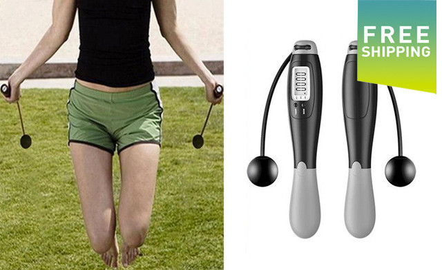 $20 for a Digital Wireless Jump Rope ($49 Value)
