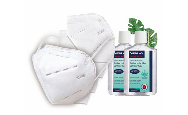 $19.99 for 50 KN95 Masks & 2x236mL Hand Sanitizers (a $149.99 Value)