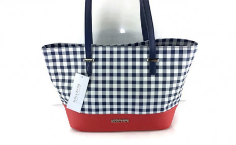 Click to view $49 for a Kenneth Cole Reaction Checkered Handbag (a $129 Value)