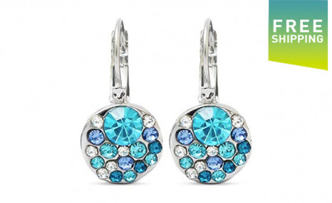 Click to view $12 for a Pair of Round Stone Zircon Earrings (a $49 Value)