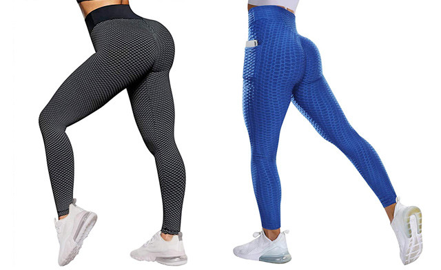 Click to view $22.95 for High Waisted Workout Leggings for Women (a $59 Value)