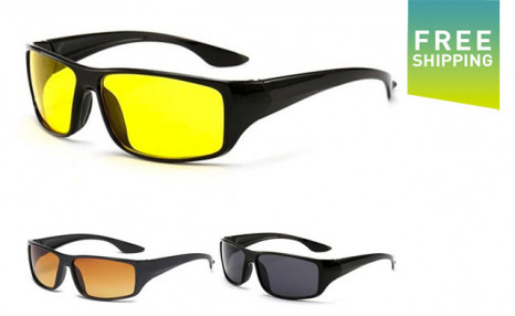 Click to view $17.95 for a 2-Pack of Anti-Glare Night Vision Driver Glasses (a $50 Value)