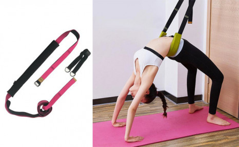 Click to view $26.95 for a Gymnastics Yoga Stretch Belt (a $59 Value)