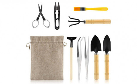 Click to view $19.95 for a 9-Piece Set of Mini Gardening Tools (a $55.99 Value)