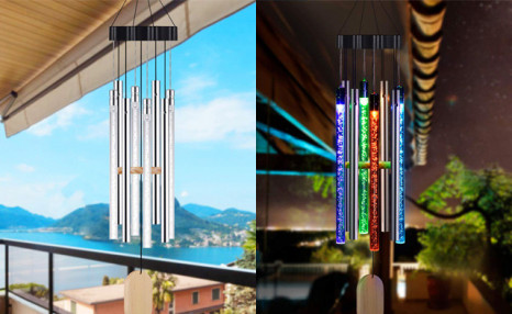 Click to view $39.95 for Solar Powered Wind Chimes (a $119 Value)