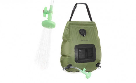 Click to view $34.95 for a Camping Shower Bag (a $109.99 Value)