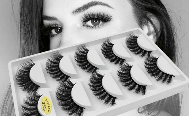 $16.95 for 5-Pairs of 3D False Eyelashes (a $68.99 Value)