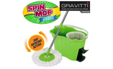 $36.95 for a Gravitti Spin Mop w/ Foot Pedal (a $55 Value)