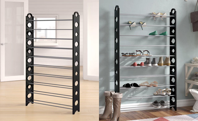 $24.95 for a 50-Pair Shoe Rack (an $89 Value)