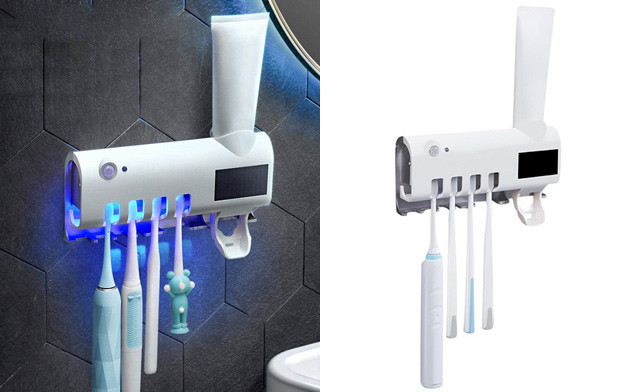 $14.95 for a UV Toothbrush Holder & Toothpaste Dispenser (a $35 Value)