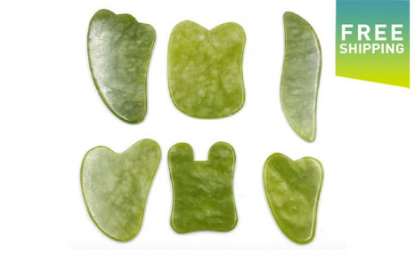 $25 for a 6-Pack of Natural Jade Stones (a $59 Value)