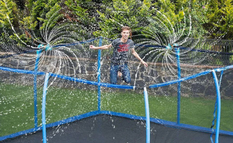 $37.95 for a Trampoline Sprinkler (a $79 Value)
