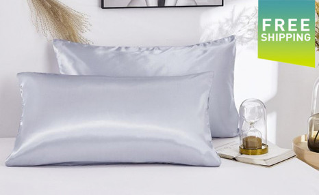 $24.95 for a 2-Pack of Satin Pillowcases (a $79 Value)