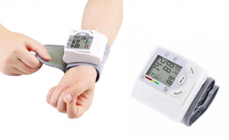 $39 for Automatic Wrist Blood Pressure Monitor (a $109 Value)