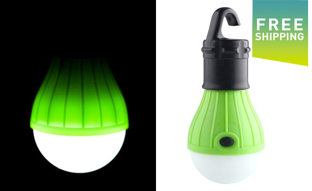 $15 for a Portable Hanging Tent Light (a $34.99 Value)