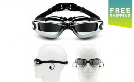 $15.95 for Anti-Fog UV Swim Goggles (a $64.99 Value)