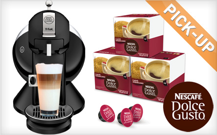 $79.99 for a Nescafe Dolce Gusto Single Serve Coffee Maker + Pods for 56 Coffee and Specialty Beverages (a $165.88 Value)