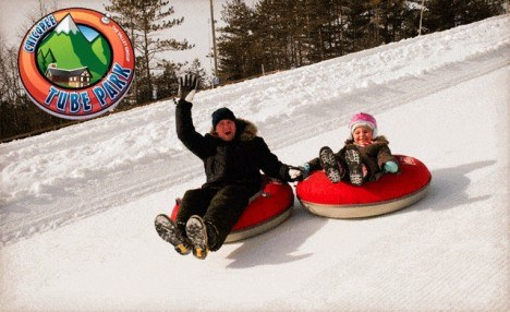 $55 for Winter Tubing for 1 Adult and 1 Child with Helmets at Chicopee Tube Park (a $72 value)