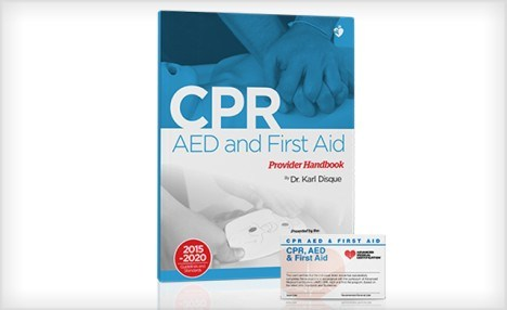 $19 for a CPR, AED and First Aid Certification Course (a $59 Value)