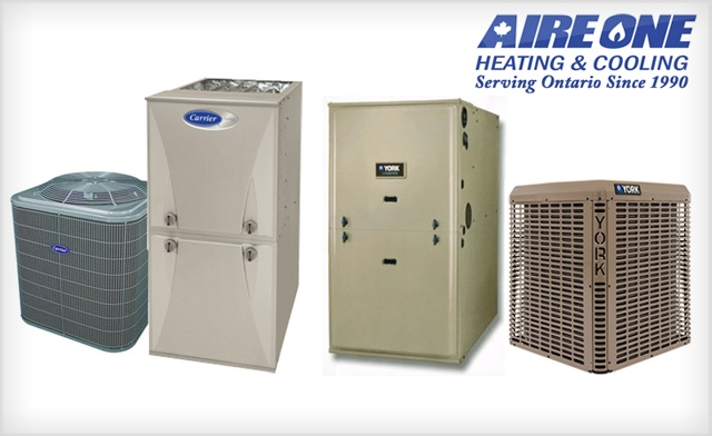 45% off Hi-Efficiency Furnace and Central Air in Hamilton - Basic Installation Included