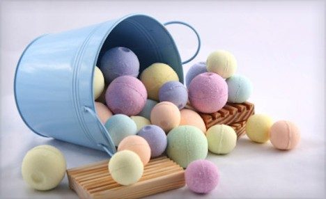 Up to 64% off a 6-Pack or 12-Pack of Assorted Handmade Bath Bombs