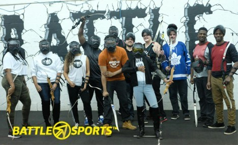 Up to 54% off Archery Dodgeball Games for Up to 8 People at Battle Sports