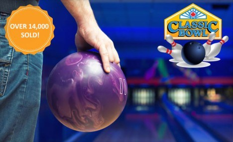 $29 for 90 Minutes of Bowling Fun for Up to 4 People including Shoe Rentals (a $82.95 Value)