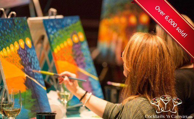$25 for a 2-Hour Paint Party (a $45 value)