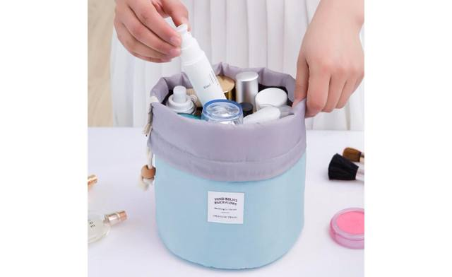 $19 for a Drawstring Cosmetic Pouch (a $35 Value)