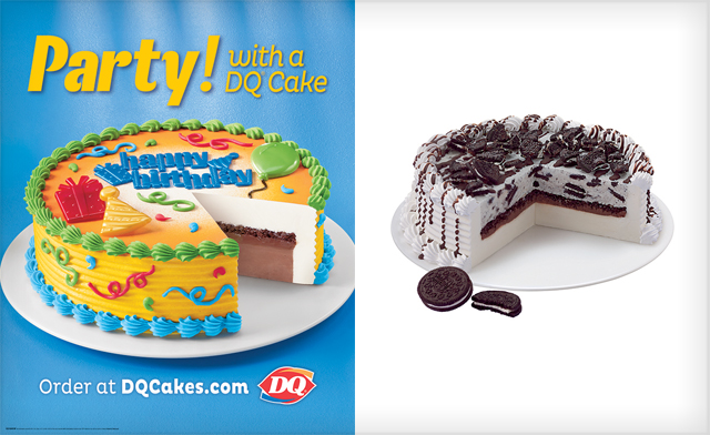 Awesome Up To 50 Off Blizzard Or Original Cakes From Dairy Queen Choose Funny Birthday Cards Online Alyptdamsfinfo