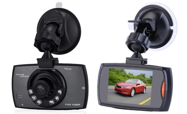 $35.99 for an HD 1080P Car Dash Cam with Night Vision (a $115 Value)