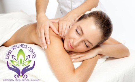 $35 for a One Hour Relaxation Massage from Derry Wellness Centre (a $65 Value)