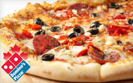 9 For A Large Pizza With Unlimited Of Toppings From Domino S Pizza