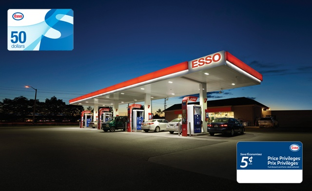 LAST CHANCE! Up to 21% off a Fuel Discount Card & Gift Card Bundle from the Esso Brand - Valid Across Canada